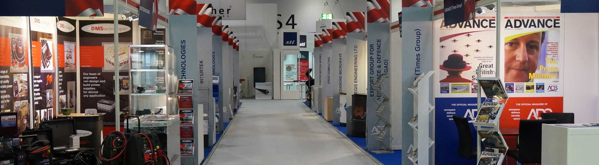 NF-x Installed Exhibition Stand  Image