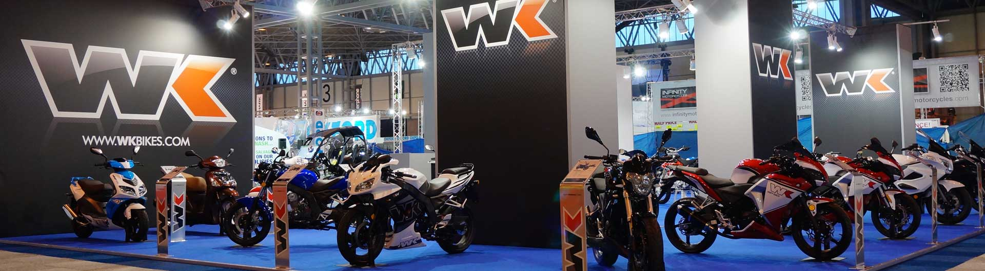 WK Bikes Exhibition Stand  Image